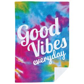 Premium Blanket - Good Vibes Everyday