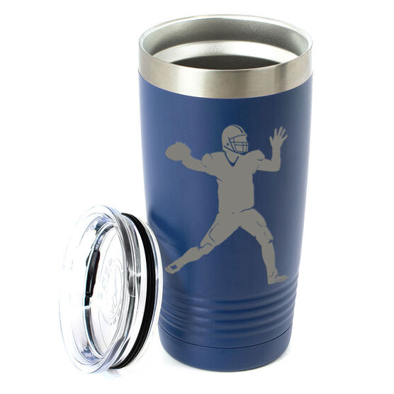 Football 20 oz. Double Insulated Tumbler - Quarterback