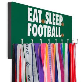 Football Hooked on Medals Hanger - Eat Sleep Football