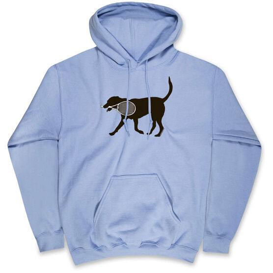 Tennis Hooded Sweatshirt - Tanner the Tennis Dog