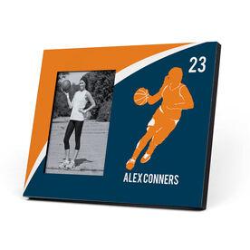 Basketball Photo Frame - Personalized Basketball Girl Player