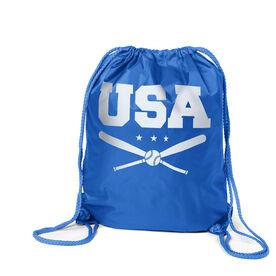 Baseball Sport Pack Cinch Sack - USA Baseball