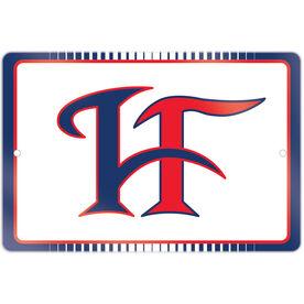 """Room Sign (18""""x12"""") - Hamilton Fairfield Logo (Blue)"""