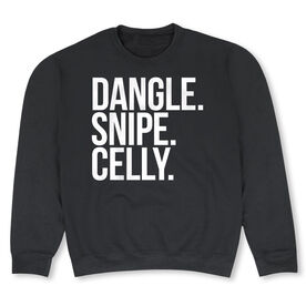 Hockey Crew Neck Sweatshirt - Dangle Snipe Celly