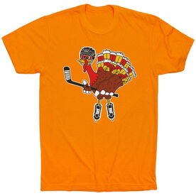 Hockey Short Sleeve T-Shirt - Hockey Top Shelf Turkey Tom