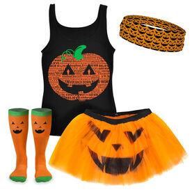 PR Pumpkin Running Outfit