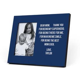 Personalized Photo Frame - Dear Mom Heart