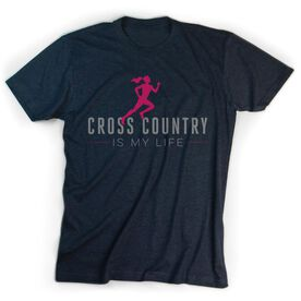Cross Country Youth T-Shirt Short Sleeve My Life (Female)