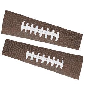 Football Printed Arm Sleeves - Football Texture