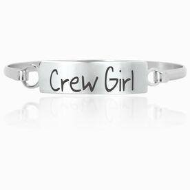 Crew Engraved Clasp Bracelet Crew Girl