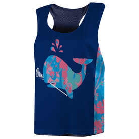 Girls Lacrosse Racerback Pinnie - Lax Whale