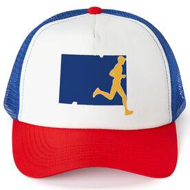 Running Trucker Hat - Colorado Male Runner