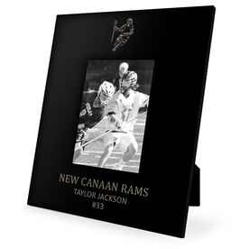 Guys Lacrosse Engraved Picture Frame - Guy Player