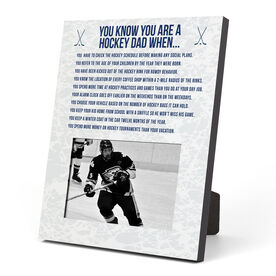 Hockey Photo Frame - You Know You're A Hockey Dad When