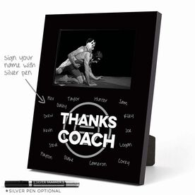 Wrestling Photo Frame - Thanks Coach