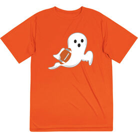 Football Short Sleeve Performance Tee - Ghost
