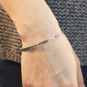 InspireME Cuff Bracelet - She Believed She Could