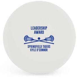 Guys Lacrosse Ball - Team Award with Crossed Sticks