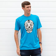 Mens Lacrosse Short Sleeve T-Shirt - Day of the Laxer