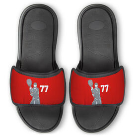 Guys Lacrosse Repwell™ Slide Sandals - Goalie With Number