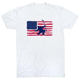 Hockey T-Shirt Short Sleeve - Hockey Land That We Love