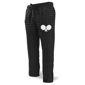 Ping Pong Lounge Pants Paddle Silhouette