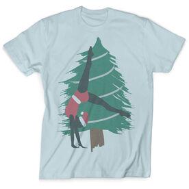 Vintage Gymnastics T-Shirt - Santa Gymnast