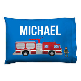 Personalized Pillowcase - Firefighter