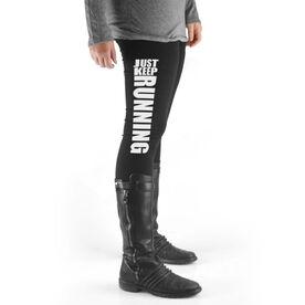 Running High Print Leggings Just Keep Running
