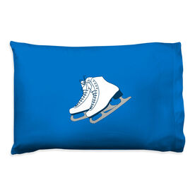 Figure Skating Pillowcase - Figure Skates