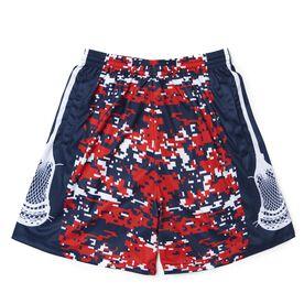 Patriotic Digital Camo Lacrosse Shorts