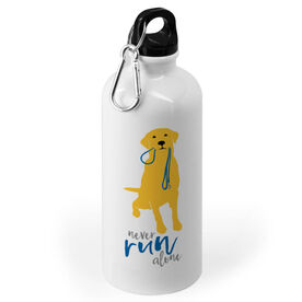 Running 20 oz. Stainless Steel Water Bottle - Never Run Alone