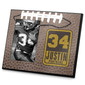 Football Photo Frame Personalized Football