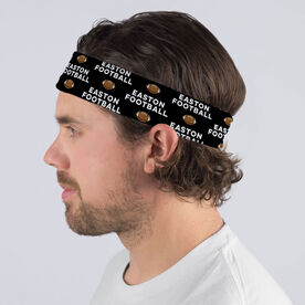 Football Multifunctional Headwear - Custom Team Name Repeat RokBAND