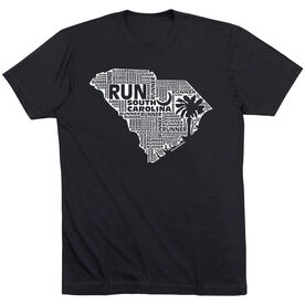 Running Short Sleeve T-Shirt - South Carolina State Runner