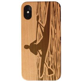 Crew Engraved Wood IPhone® Case - Crew Rower Guy