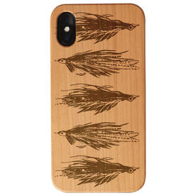Fly Fishing Engraved Wood IPhone® Case - All Stocked Up