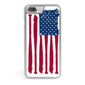 Baseball iPhone® Case - American Flag