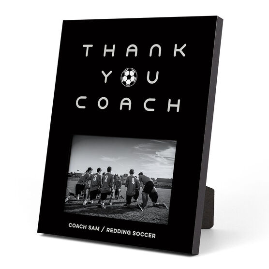 Soccer Photo Frame - Thank You Coach