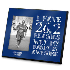 Running Photo Frame 26.2 Reasons Why My Daddy is Awesome