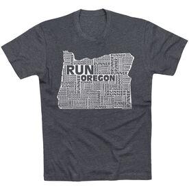 Running Short Sleeve T-Shirt - Oregon State Runner