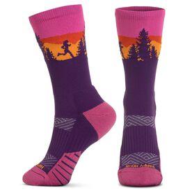 Socrates® Mid-Calf Performance Socks - Happy Hour