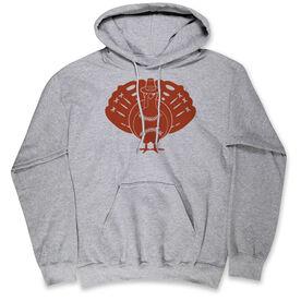 Baseball Hooded Sweatshirt - Turkey Player