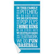 Baseball Premium Beach Towel - We Do Baseball