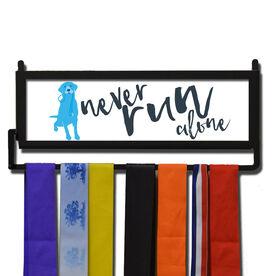 RunnersWALL Never Run Alone Medal Display