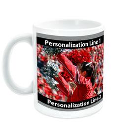 Cheerleading Coffee Mug Custom Photo With Colors