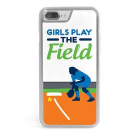 Softball iPhone® Case - Girls Play the Field