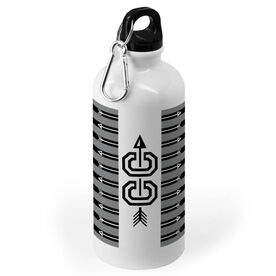 Cross Country 20 oz. Stainless Steel Water Bottle - CC With Stripes