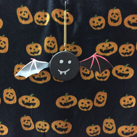 Hockey DIY Halloween Bat Wings