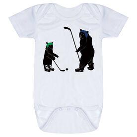 Hockey Baby One-Piece - Bears